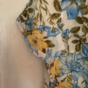 Erika Tops - NWT button down floral top